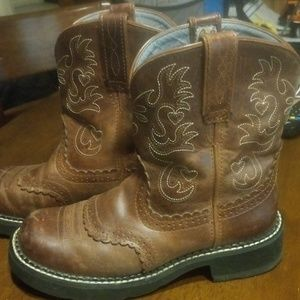 Ariat Fatbaby Western Boots Size 7